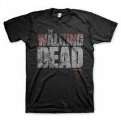 Walking Dead - Splatter Logo T-Shirt, Basic Tee