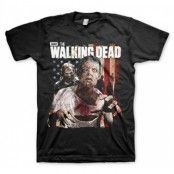 Walking Dead - Walkers Flag T-Shirt, Basic Tee