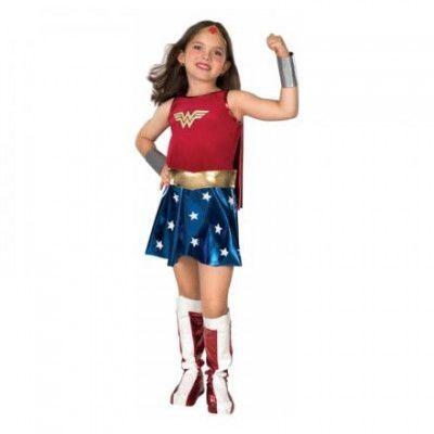 Wonder Woman Barn Maskeraddräkt - Small