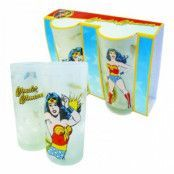 Wonder Woman Glas