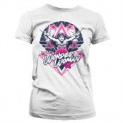 Wonder Woman Stars Girly T-Shirt, Girly T-Shirt