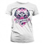 Wonder Woman Stars Girly T-Shirt, T-Shirt
