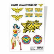 Wonder Woman Sticker Set, Sticker Sheet