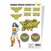 Wonder Woman Sticker Set, Accessories