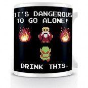 Legend of Zelda - Drink This Mug