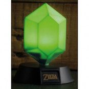 Legend of Zelda - Green Rupee 3D Light