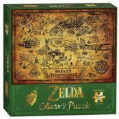 Legend of Zelda - Hyrule Map Puzzle