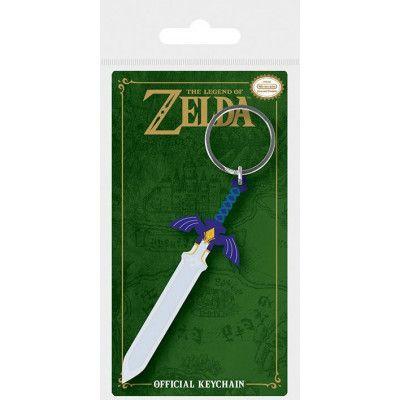 Legend of Zelda - Master Sword Rubber Keychain
