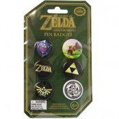 Legend of Zelda - Pins 6-Pack Badges