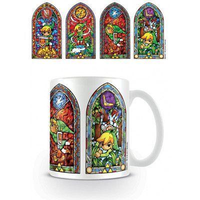 Legend of Zelda - Stained Glass Mug