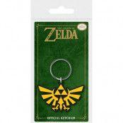 Legend of Zelda - Triforce Rubber Keychain