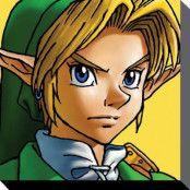 the Legend of Zelda Canvas Link 40 x 40 cm