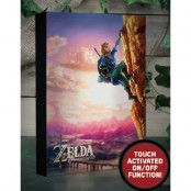 The Legend of Zelda Luminart - Canvasbild med Ljus 20x30 cm