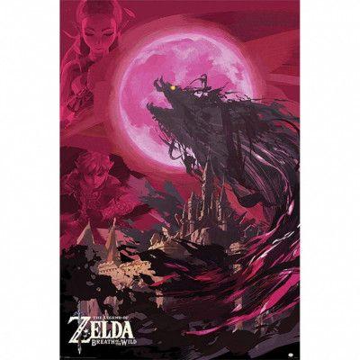 The Legend of Zelda, Maxi Poster - Ganon Blood Moon