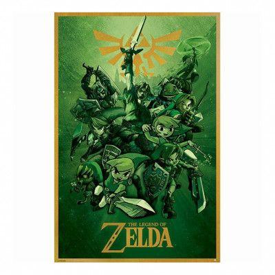 The Legend of Zelda, Maxi Poster - Multiple Link