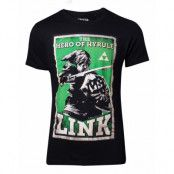 Zelda Hero of Hyrule T-shirt, SMALL