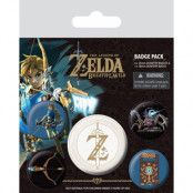 Zelda Knappar 5-pack