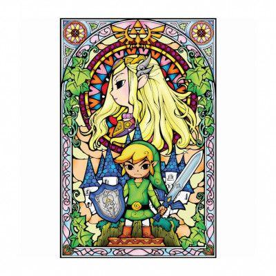 Zelda, Maxi Poster - Glasmålning