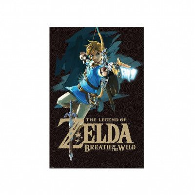Zelda, Maxi Poster - Link (Breath of the Wild)