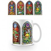 Zelda Mugg Stained Glass