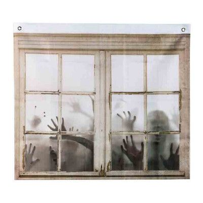 Fönsterdekoration Zombies