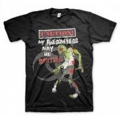 My Awesomeness May Be Infectious T-Shirt, Basic Tee