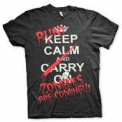 Run - Zombies Are Coming! T-Shirt, Basic Tee