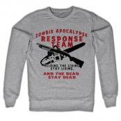Zombie Apocalypse Sweatshirt, Sweatshirt