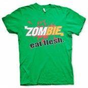 Zombie - Eat Flesh T-Shirt, Basic Tee