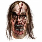 Walking Dead Delat Zombiehuvud Mask