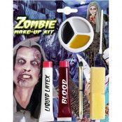 Zombie Sminkset 6 Delar