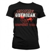 Zombie Outbreak Responce Team Girly T-Shirt, Girly T-Shirt