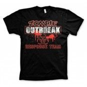 Zombie Outbreak Responce Team T-Shirt, Basic Tee