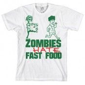 Zombies Hate Fast Food!, Basic Tee